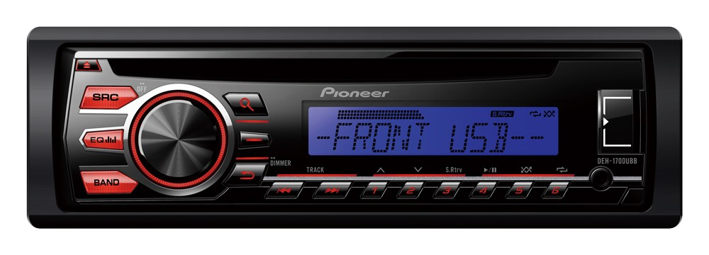 Autorádio Pioneer DEH-1700UBB