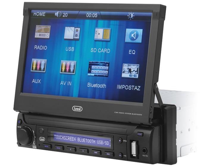 Autorádio Trevi MDV 6350BT Autorádio s dotykovým LCD displejem ROZBALENO