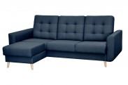 Avanti - rohová sedačka levá, rozklad,úložný prostor (sawana 80)