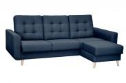Avanti - rohová sedačka pravá, rozklad,úložný prostor (sawana 80)