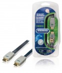 BANDRIDGE High Speed HDMI Kabel HDMI Konektor-HDMI 3m