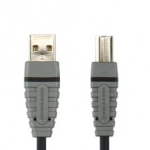 Bandridge USB 2.0 A konektor - B konektor, 2m, BCL4902