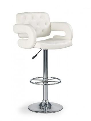 Barová židle Barová židle H-37 (eco kůže krémová/chrom)