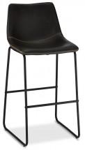 Barová židle Guaro černá