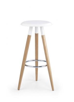 Barová židle H-50 (olše,bílá)