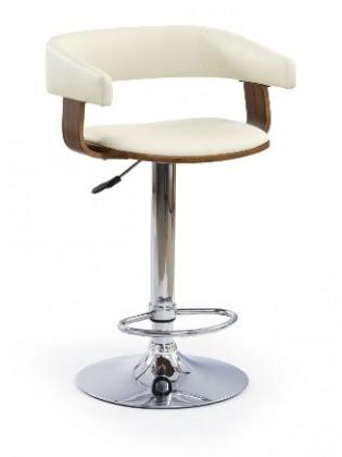 Barová židle H12 (ořech)