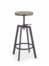Barová židle H64 (hnědá)