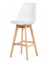 Barová židle Lina (bílá)