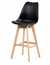 Barová židle Lina (černá)
