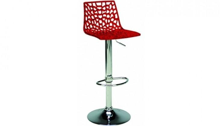 Barová židle Spider (červená)