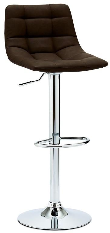 Barové židle Barová židle Fuente tmavě hnědá