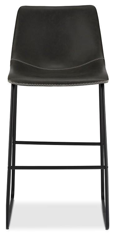 Barové židle Barová židle Guaro šedá, černá