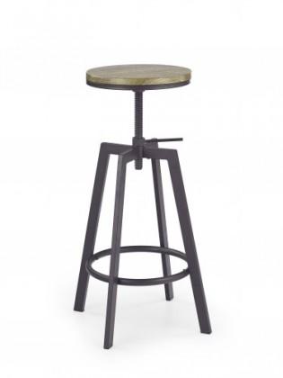 Barové židle Barová židle H64 (hnědá)