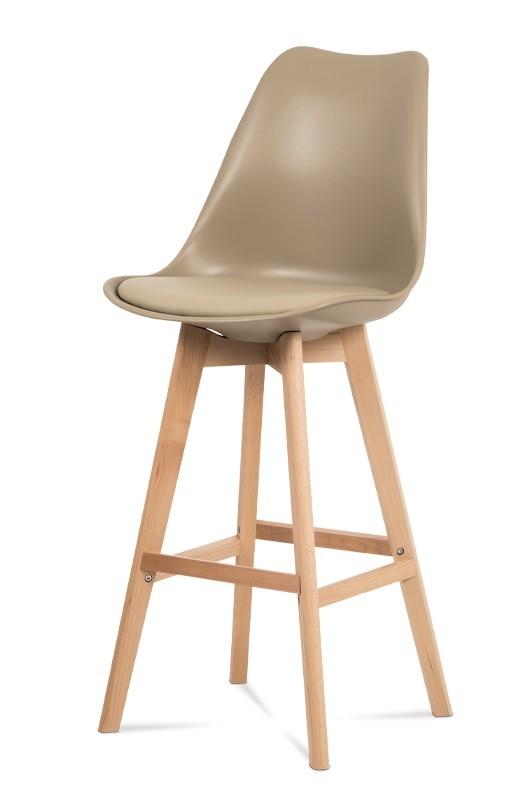 Barové židle Barová židle Lina (béžová)