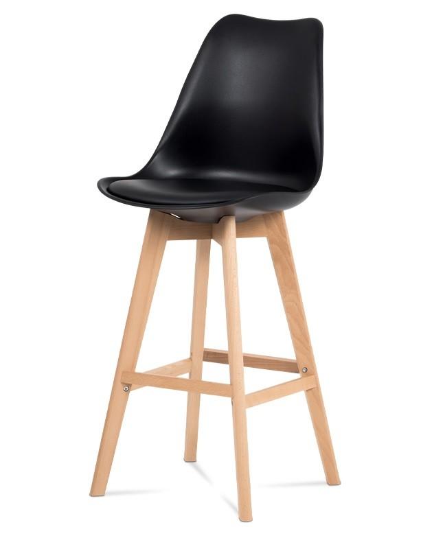 Barové židle Barová židle Lina (černá)