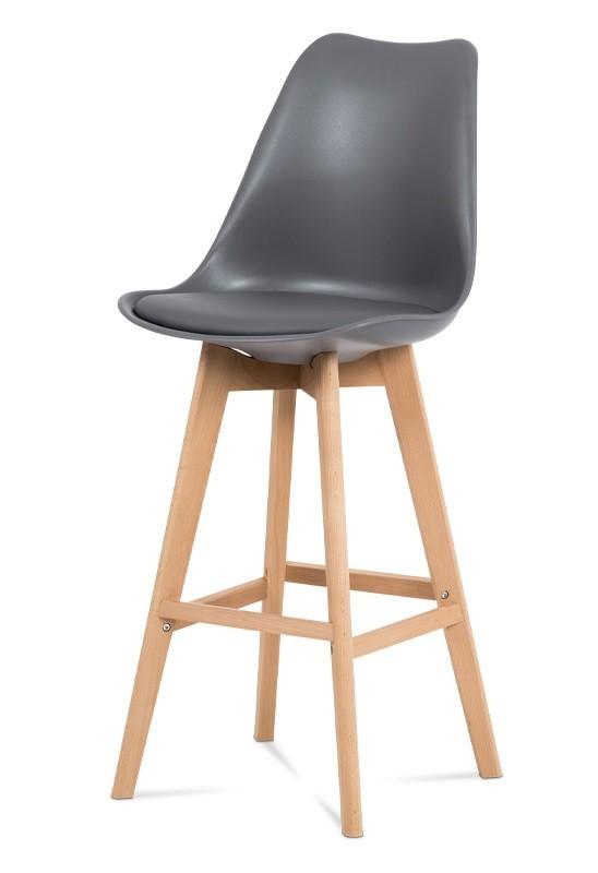 Barové židle Barová židle Lina (šedá)