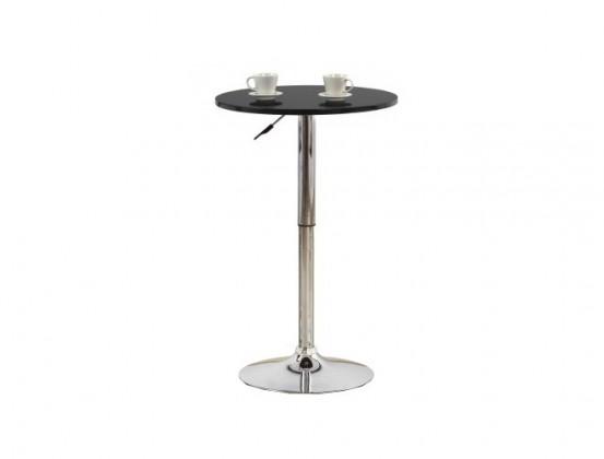 Barový stůl SB-3(černá / ocel)