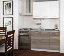 Basic - Kuchyňský blok A 120 cm (bílá, trufle, titan)