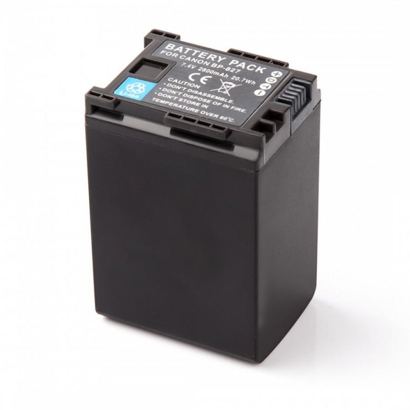 Baterie do fotoaparátů MadMan baterie pro Canon BP-827