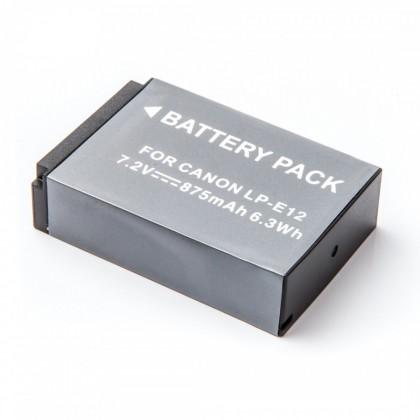 Baterie do fotoaparátů MadMan Baterie pro Canon LP-E12