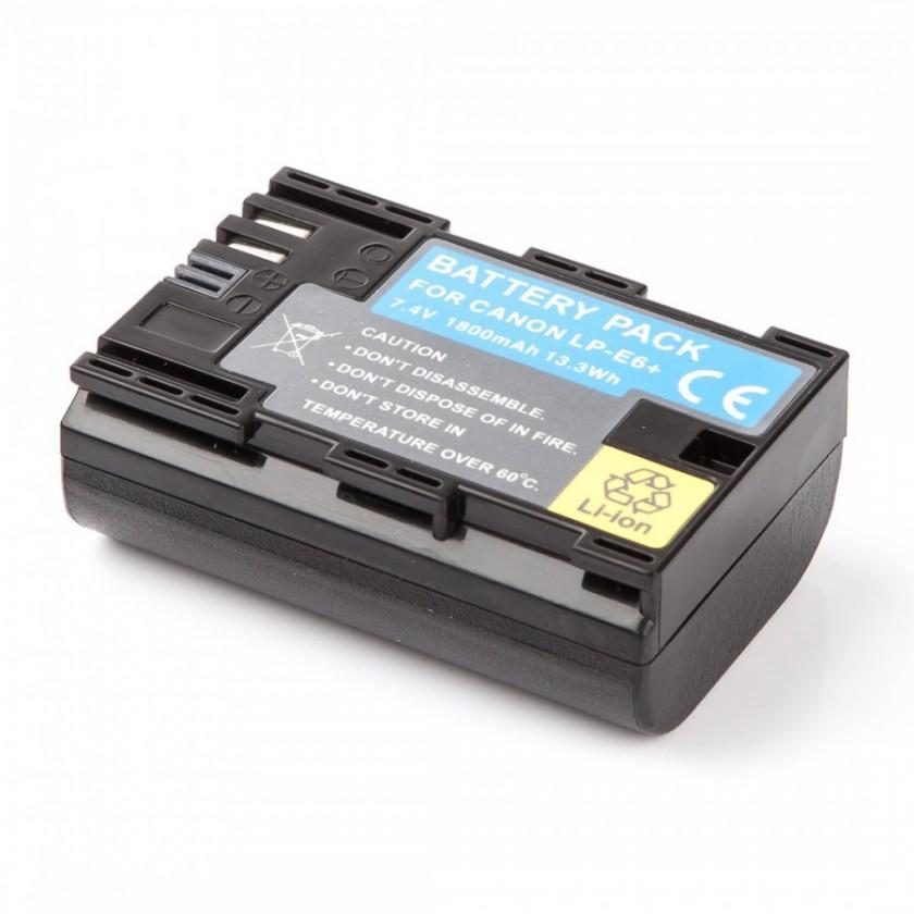 Baterie do fotoaparátů MadMan Baterie pro Canon LP-E6