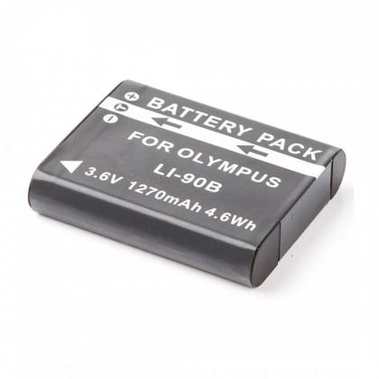 Baterie do fotoaparátů MadMan Baterie pro Olympus LI-90B