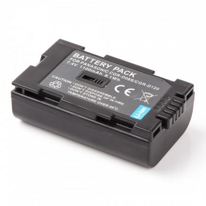 Baterie do fotoaparátů MadMan Baterie pro Panasonic CGR-D120/D08s