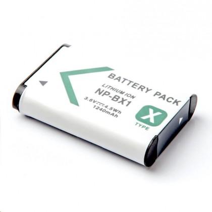 Baterie do fotoaparátů MadMan Baterie pro SONY HDR-AS15