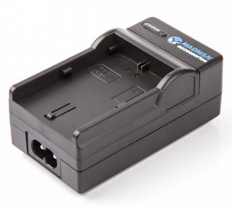 Baterie do fotoaparátů MadMan Dobíjecí set pro Canon LP-E6