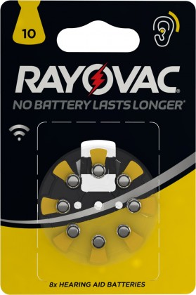 Baterie do naslouchadel Varta 4610745418, HAB10, 8ks