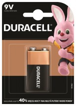 Baterie Duracell Basic 6LR61, 9V