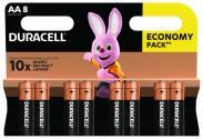 Baterie DURACELL Basic,AA,8 ks