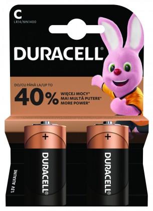 Baterie Duracell Basic, LR14, 2ks