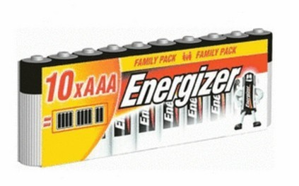 Baterie Energizer Classic AAA 10ks