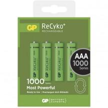 Baterie GP 1000mAh AAA 4ks