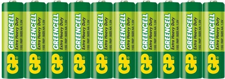 Baterie GP Greencell AAA 10ks