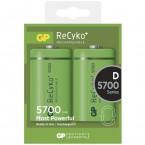Baterie GP Recyko+ D 5700 mAh 2ks