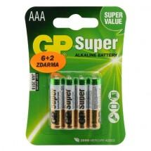 Baterie GP Ultra Alkaline AAA 8ks