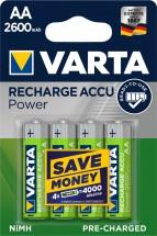Baterie Varta Accu, AA, 2600mAh, 4ks