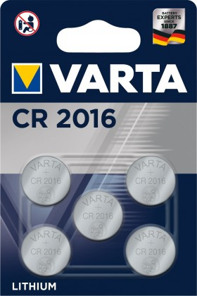 Baterie Varta CR 2016 5ks