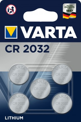 Baterie Varta CR-2032 5ks