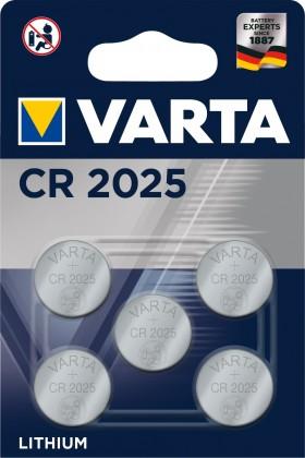 Baterie Varta CR2025 5ks