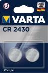 Baterie Varta CR2430, lithium, 2 ks