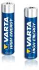 Baterie VARTA HIGH ENERGY AAA 4ks