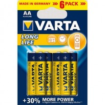 Baterie Varta Longlife Extra AA 6ks