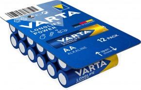 Baterie Varta Longlife Power, AA, 12ks