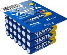 Baterie Varta Longlife Power, AAA, 24ks