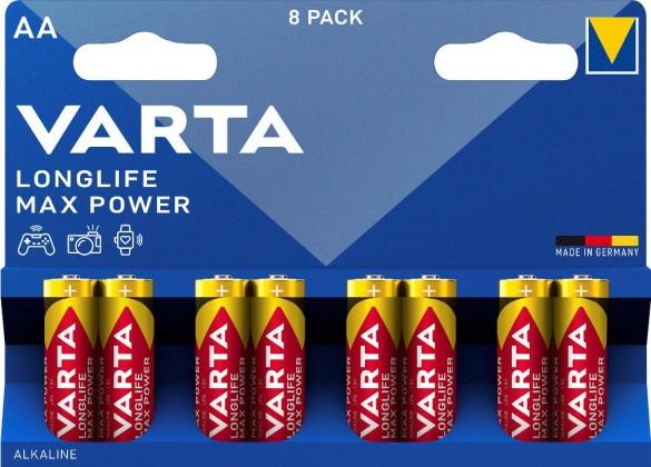 Baterie Varta Max Tech, AA, 8ks