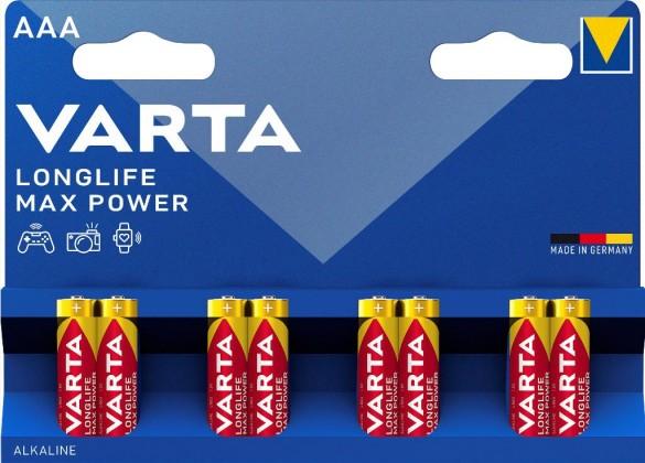 Baterie Varta Max Tech, AAA, 8ks