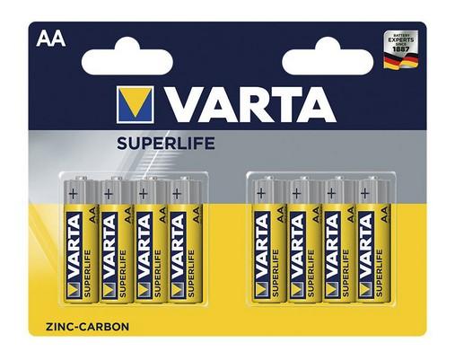 Baterie Varta Superlife, AA, 8ks